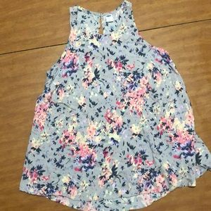 Floral Old Navy tank top